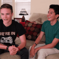 Davey Wavey Interviews Gay Teen and His Straight Best Friend About Their Prom Date: VIDEO
