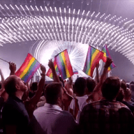 Gay Pride Flags Out In Force During Russia's Eurovision Performance 'A Million Voices' – VIDEO
