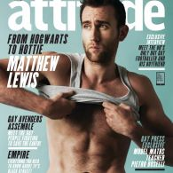 'Harry Potter' Star Matthew Lewis Looks Magically Delicious on the Cover of UK's 'Attitude' – PHOTOS