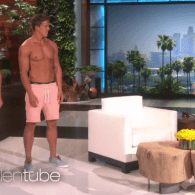 Ellen Reveals She's the Mother of Two Insanely Attractive Twin Boys: VIDEO