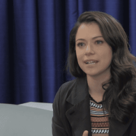 Orphan Black Star Tatiana Maslany Tears Up Explaining Why She's an LGBT Ally: VIDEO