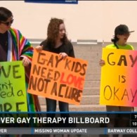 Minnesota High School Students Protest Billboard Advertising 'Ex-Gay' Therapy: VIDEO