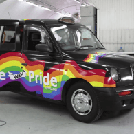 Take Your LGBT Advocacy on the Road in London's Stylish New Rainbow Taxi: VIDEO