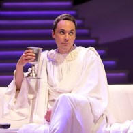 Jim Parsons Opens in 'An Act of God' on Broadway: REVIEW