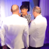 WATCH: Jennifer Hudson Surprises Grooms at Gay Wedding in Dallas