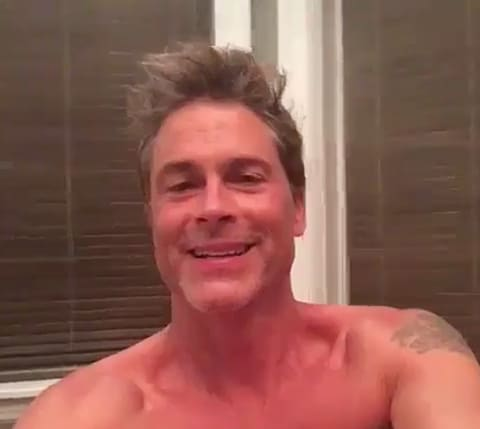 Sorry, that Rob lowe naked with