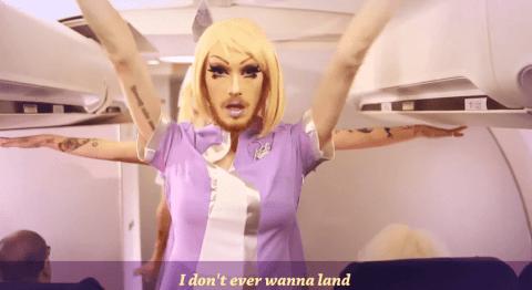 drag queen airline
