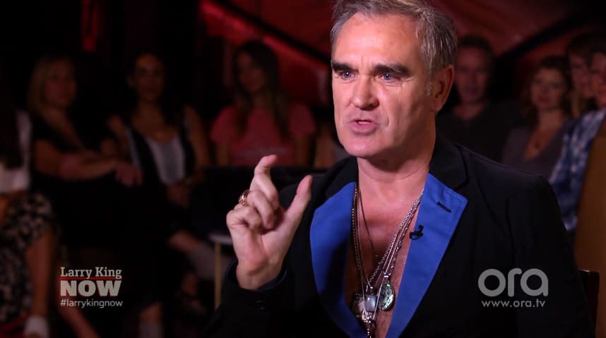 Morrissey has been heavily criticised for his take on the Weinstein/Spacey scandals