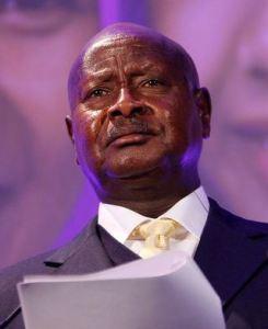 yoweri museveni, uganda
