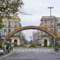 Warsaw's Iconic 'Gay Rights' Rainbow Taken Down