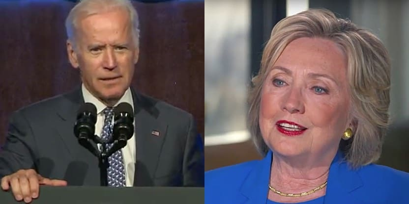 Joe Biden Hillary Clinton human rights campaign