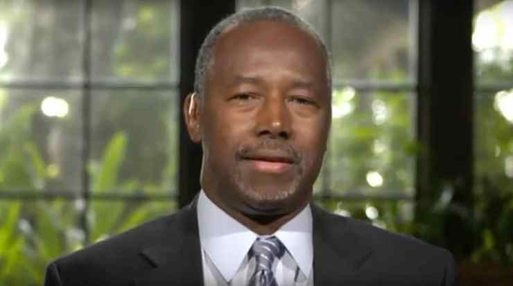 Ben Carson gay marriage