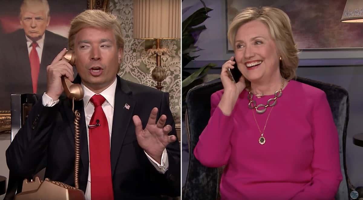 hillary Clinton mocks Donald Trump