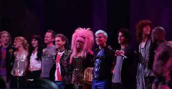 Hedwig closing night curtain call