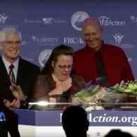 Kim Davis Receives Award from America's Leading Anti-Gay Hate Group: WATCH