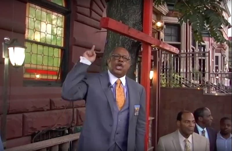 Harlem Hate Pastor James David Manning