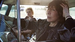 """""""Grandma"""" starring Lily Tomlin as seen in Towleroad and ManAboutWorld gay travel magazine"""