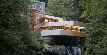 Fallingwater as seen in Towleroad and ManAboutWorld gay travel magazine
