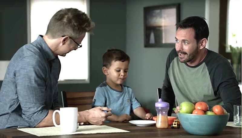Campbell gay ad