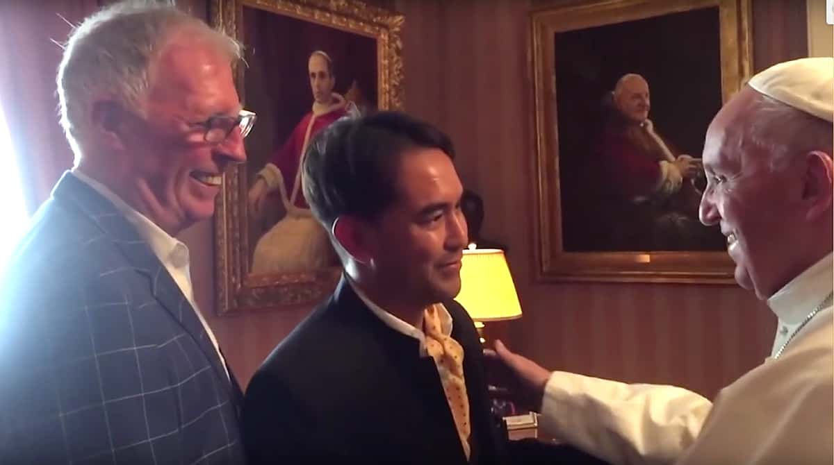 Pope Francis met with gay couple