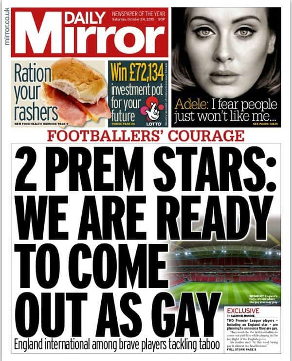 from Rudy footballers gay premiership who
