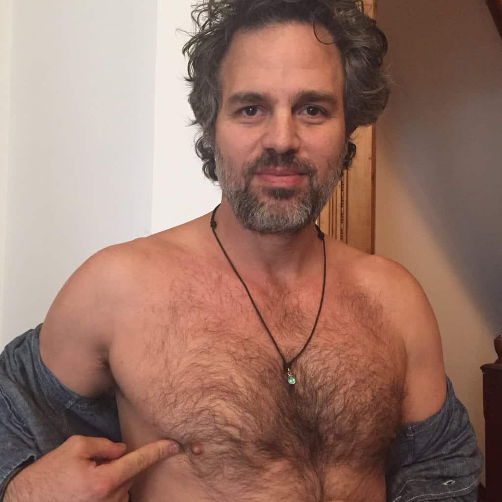 Mark Ruffalo nipple