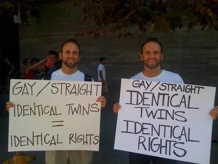 straight gay Twins