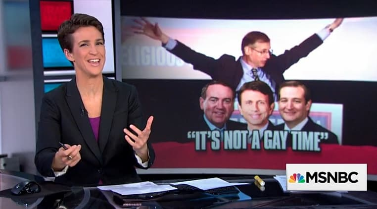 rachel maddow kill the gays