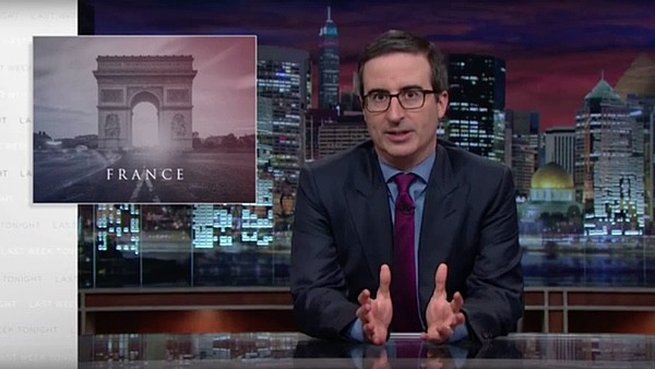John Oliver rips the Paris terrorists