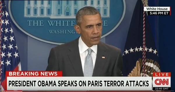 Obama Paris