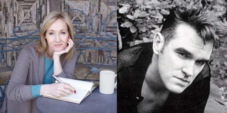 JK Rowling Morrissey