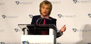 Hillary Clinton SC Equality