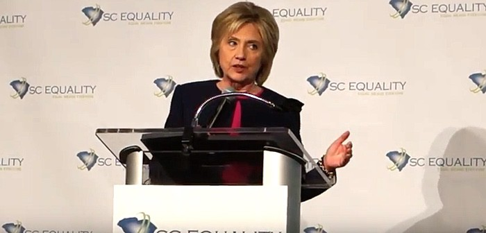 Hillary Clinton SC Equality