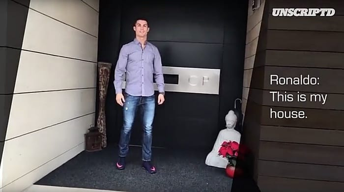 Cristiano Ronaldo home