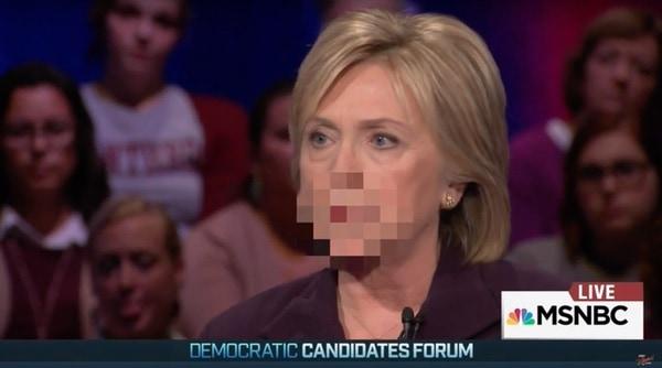 Censorship Clinton