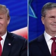 Donald Trump and Jeb Bush Went at Each Other at Last Night's GOP Debate: WATCH