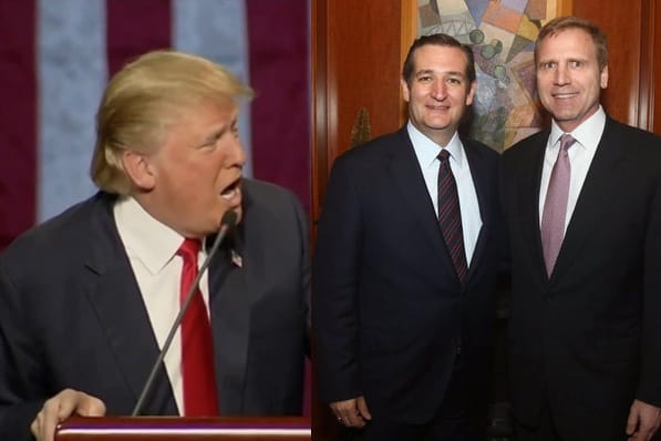 Trump Cruz gay marriage