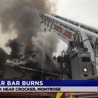 Officials Investigate Cause of Blaze That Gutted Houston Gay Bar The Eagle on Saturday – VIDEO