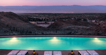 Rancho Mirage, California; warm-weather getaways in Towleroad and ManAboutWorld gay travel magazine