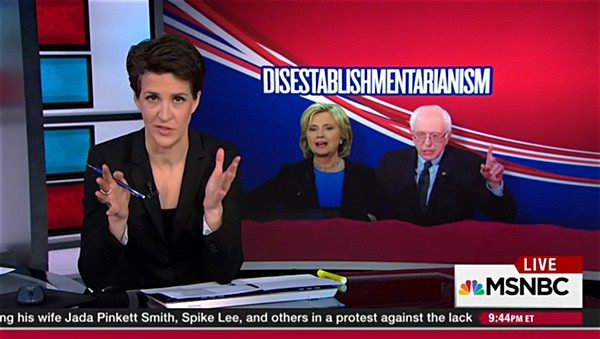 Sanders Establishment Maddow