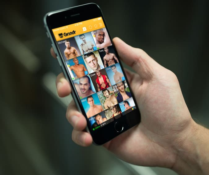 Grindr shares HIV status of users with other companies