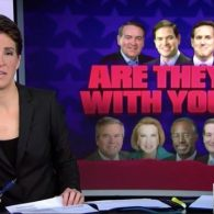 Rachel Maddow: 7 GOP Candidates to Stand with Hateful Anti-Gay Pastor Today – WATCH
