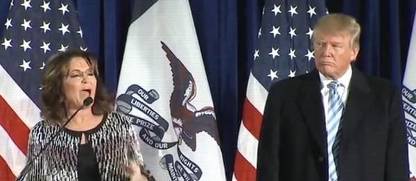 Sarah Palin remix Donald Trump