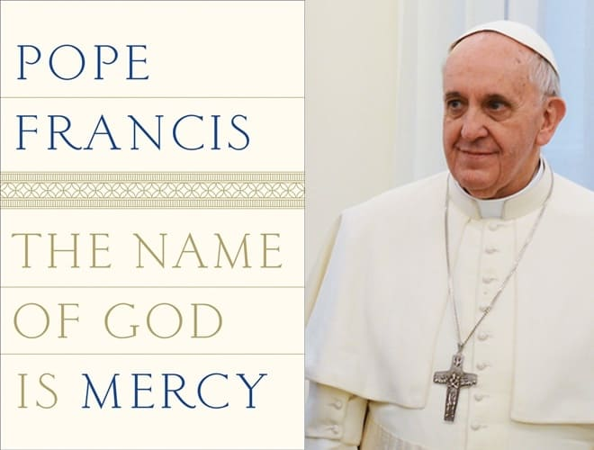Pope Francis gays - name of god is mercy