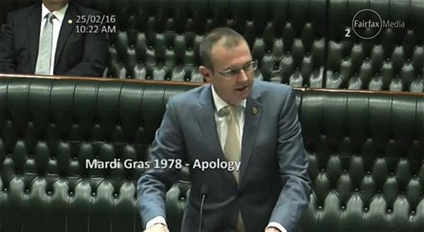 NSW Apology Mardi Gras