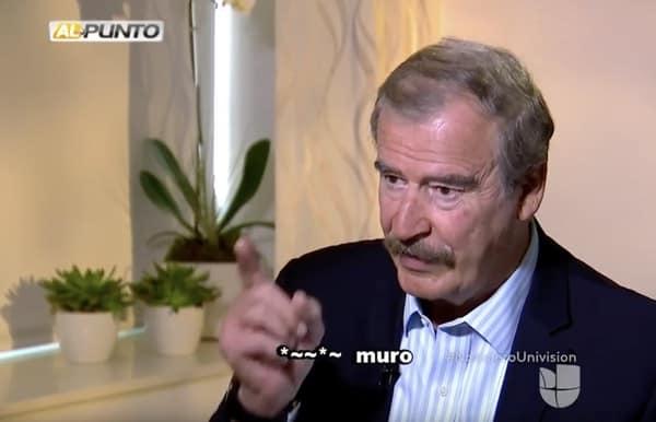 Vicente Fox Trump