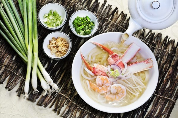 King Seafood Noodle Soup, Hong Kong Cafe.