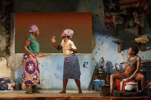 ECLIPSED PLAY ORIGINAL JOHN GOLDEN THEATRE 252 W. 45TH ST.