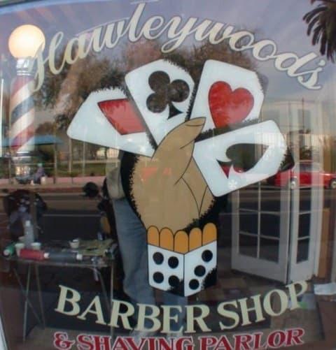 Hawleywood Barber Shop transgender barber