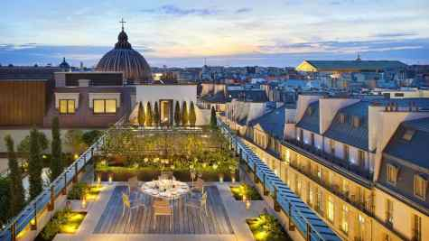 Hotel Mandarin Oriental, Paris, in ManABoutWorld and Towleroad